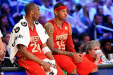 2011 NBA All Star Game  Los Angeles  CA - February 20: Kobe Bryant and Carmelo Anthony