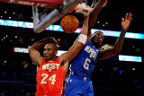 2011 NBA All Star Game  Los Angeles  CA - February 20: Kobe Bryant and LeBron James