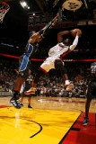 Orlando Magic v Miami Heat  Miami  FL - March 3: Dwyane Wade and Dwight Howard