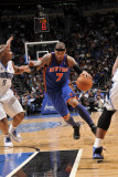 New York Knicks v Orlando Magic  Orlando  FL - March 1: Carmelo Anthony and Quentin Richardson