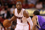 Sacramento Kings v Miami Heat  Miami  FL - February 22: Dwyane Wade