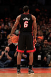 Miami Heat v New York Knicks  New York  NY - January 27: LeBron James