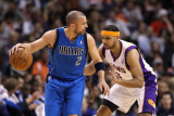 Dallas Mavericks v Phoenix Suns  Phoenix  AZ - February 17: Jason Kidd and Jared Dudley