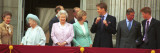 Royal Family on Queen Mother's 100th Birthday  Friday August 5  2001