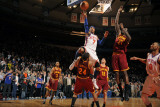 Cleveland Cavaliers  v New York Knicks  New York - March 4: Carmelo Anthony and Samardo Samuels