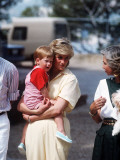 Princess Diana and Prince William on holiday in Majorca