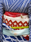 Detail of a Geisha's Sash (Obi), Pontocho Papier Photo par Frank Carter