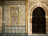 Mosaics and the Entrance Door to Gurgi Mosque in the Old City