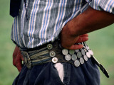 Gaucho with Hands on Hips Wearing Traditional Belt