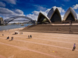 The Sydney Opera House and Harbour Bridge