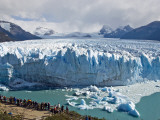 Visitors Viewing Glacier Perito Moreno from Catwalk