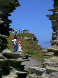 Viewpoint at Tintagel Castle