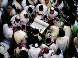 Priestly Blessing Ceremony by the Western Wall at Succot