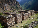 Minor Ruins of Wilkaracay Near the Start of the Inca Trail