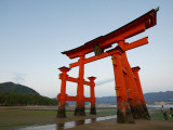 Torii at Low Tide  Itsukushima Shine