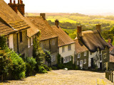 Gold Hill Houses and Surrounding Countryside