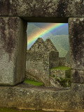 Rainbow Seen Through Temple of Three Windows