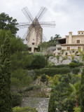 Windmill and Private Gardens