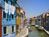 Colourful Houses by Canal