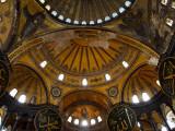Interior of the Church of the Divine Wisdom at Aya Sofya