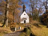 Small Kapelle (Chapel) at Schloss Linderhof (Linderhof Palace)  Near Ettal