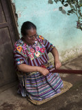Kakchiquel Woman Weaving