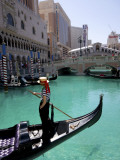 The Venetian Hotel and Gondola