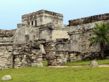Castle at Tulum Ruins