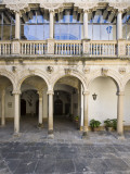 Interior Courtyard of Renaissance Castle of Canena