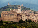 Church of St Francis in Walled Town of Assissi