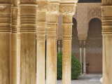 Patio De Los Leones  Palacios Nazaries (Nasrid Palace) at the Alhambra