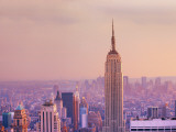 Empire State Building and Manhattan Skyline