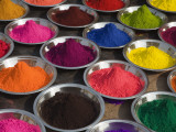 Colurful Holi Festival Powders