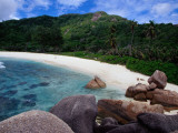 Granite Boulders of Anse Cocos Beach