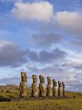 Ahu Aviki Moai Statues