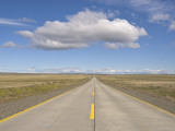 Highway from Punta Arenas