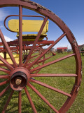 Wagon Wheel at Museo Del Recuerdo Pioneer Museum