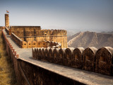 Battlements at Jaigarh Fort