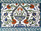 Iznik Tiles Detail at Hunkar Kasri