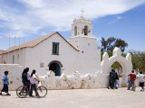 Children Entering Church of San Pedro De Atacama