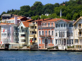 Houses on Bosphorus