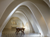 Interior of Casa Batllo  Designed by Antoni Gaudi  in Gracia Distric
