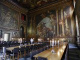 Interior of the Painted Hall at the Old Royal Naval College  Greenwich