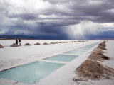 Storm Burst over Salt Pan Salinas Grandes