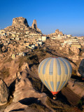 Hot-Air Ballooning over Town