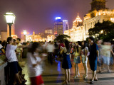 Night on the Bund Promenade