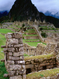 Huayna Picchu from Grounds of Inca Ruins