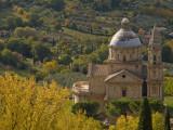 Chiesa Di San Biago Seen from Montepulciano
