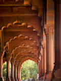 Diwani Am or Hall of Public Audience in the Red Fort