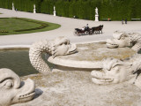 Detail of Gardens at Schonbrunn